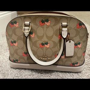 Coach mini sierra purse